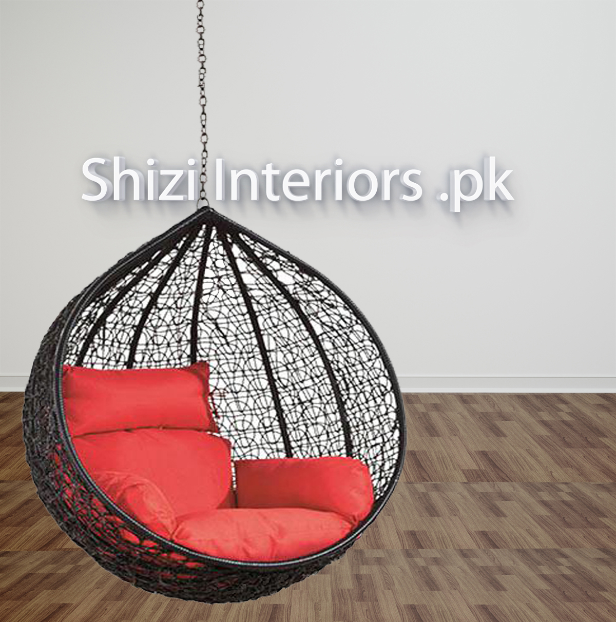 Hanging Swing Chair For Ceiling Cushion Set Chain Stand Not Included Shizi Interiors